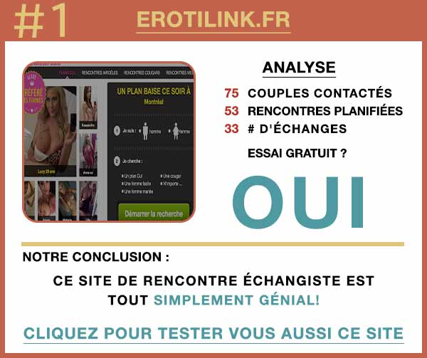 Résumé de nos témoignages sur Erotilink