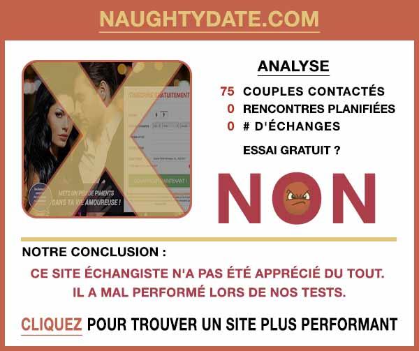 Résumé de nos témoignages sur NaughtyDate