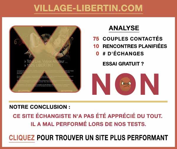 Résumé de nos témoignages sur Village-Libertin